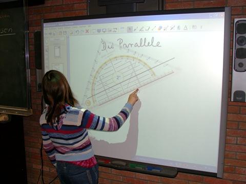 Digitales whiteboard